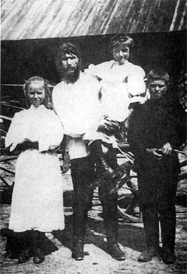 Rasputin with his kids