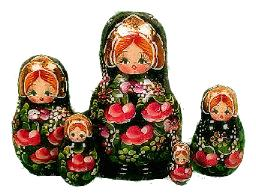 Matryoshka set