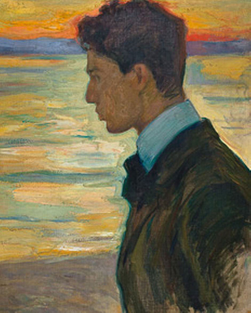 Boris Pasternak painted in 1910 by father Leonid