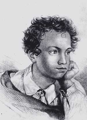 Young Pushkin
