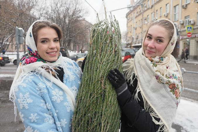 The Giving Trees of Moscow
