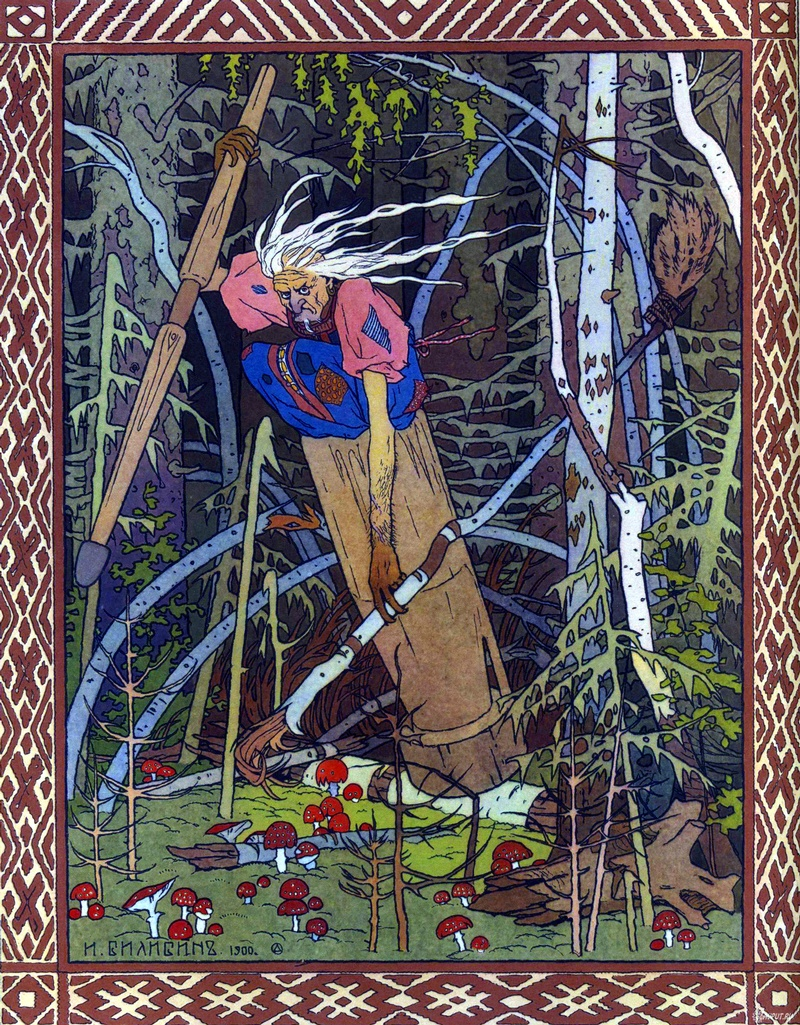 Baba Yaga: Russian Folktales' Classic Witch