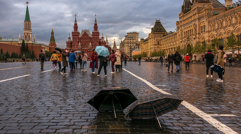 Moscow's December Was Light on Sunshine